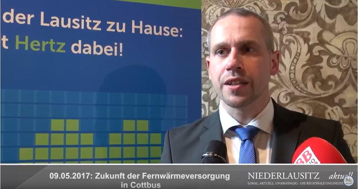 Dr. Marko Sieber (Leiter Service-Center Wärme) - Interview beim Wärme-Informationstag